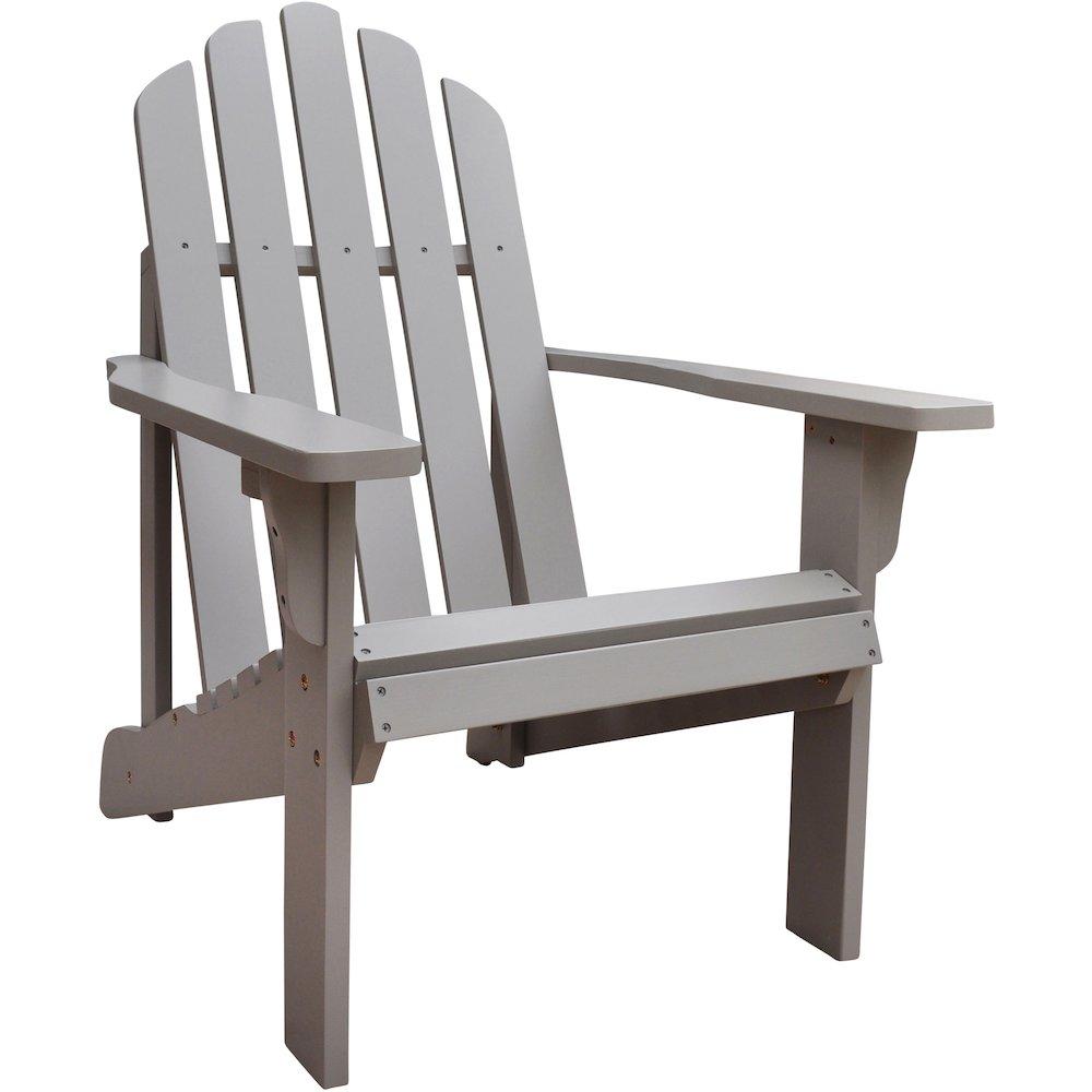 Marina Adirondack Chair Taupe Gray