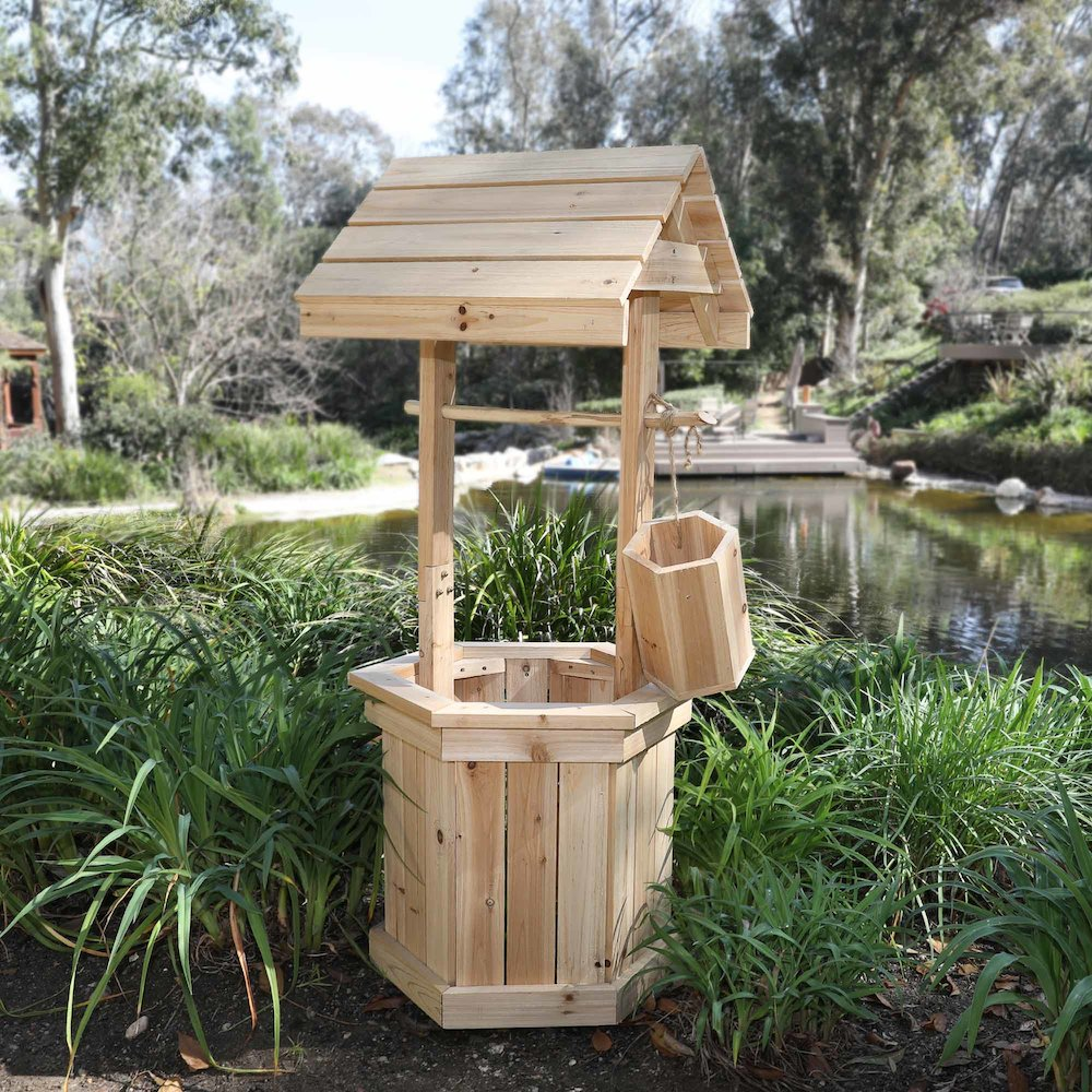 Decorative 55 Quot High Wishing Well