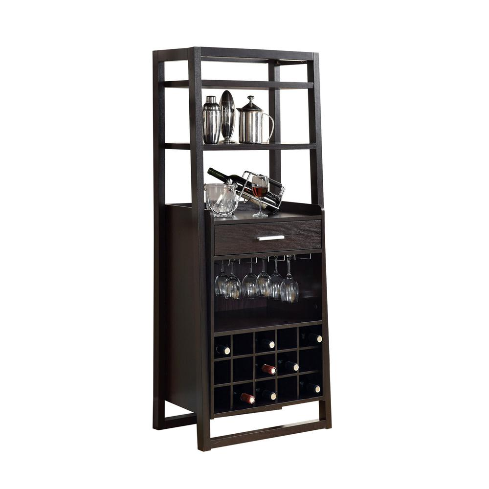 Home Bar 60 Quot H Cappuccino Ladder Style