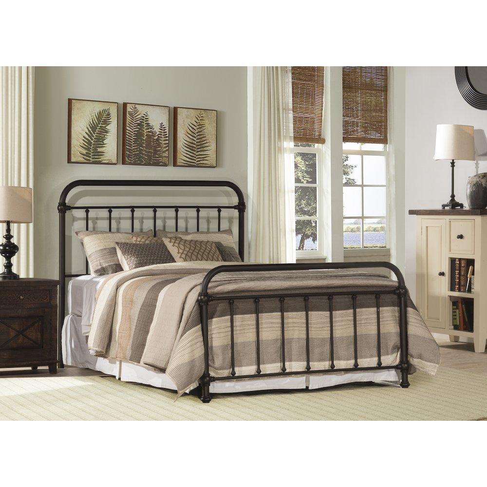 Kirkland Bed Set - King - Bed Frame Included. Picture 1