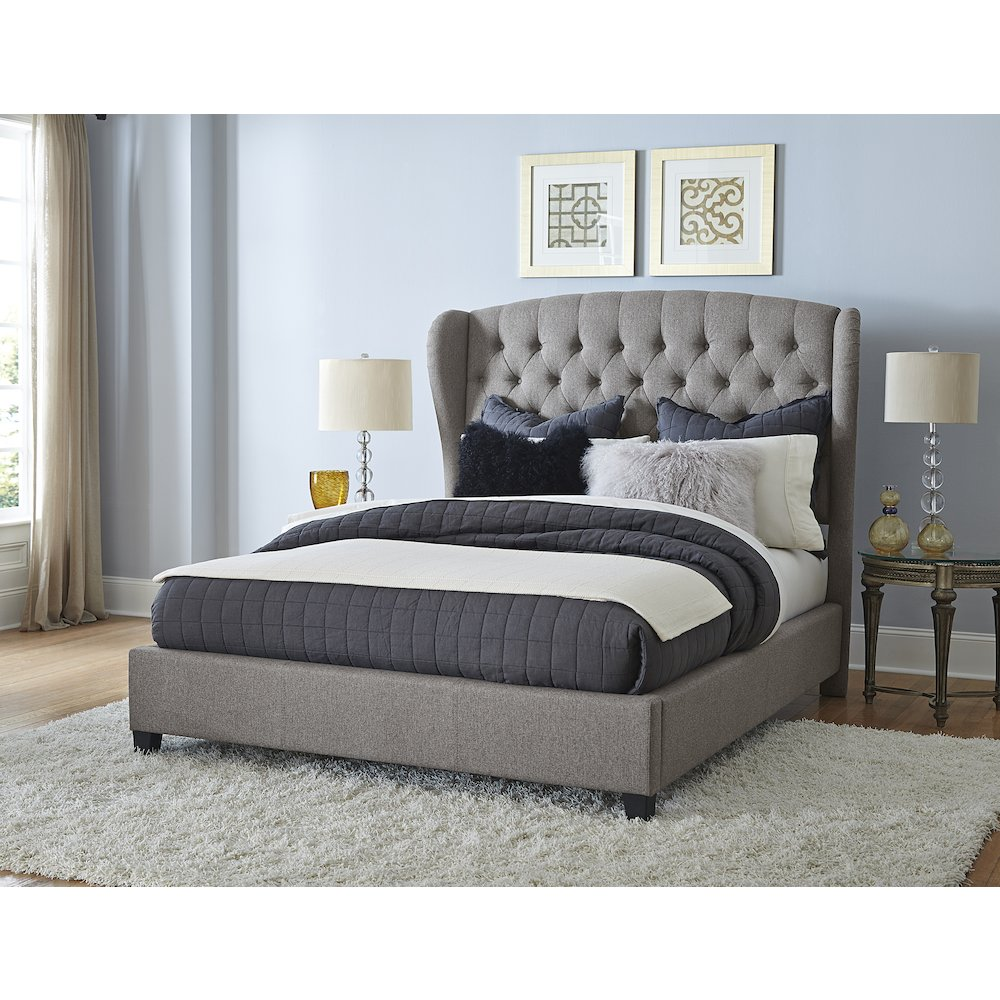 Bromley Bed Set Queen Bed Rails Included