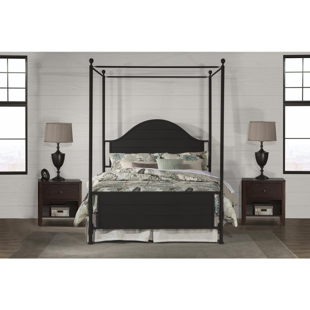 Cumberland Canopy Bed Queen Metal Bed Rail Included