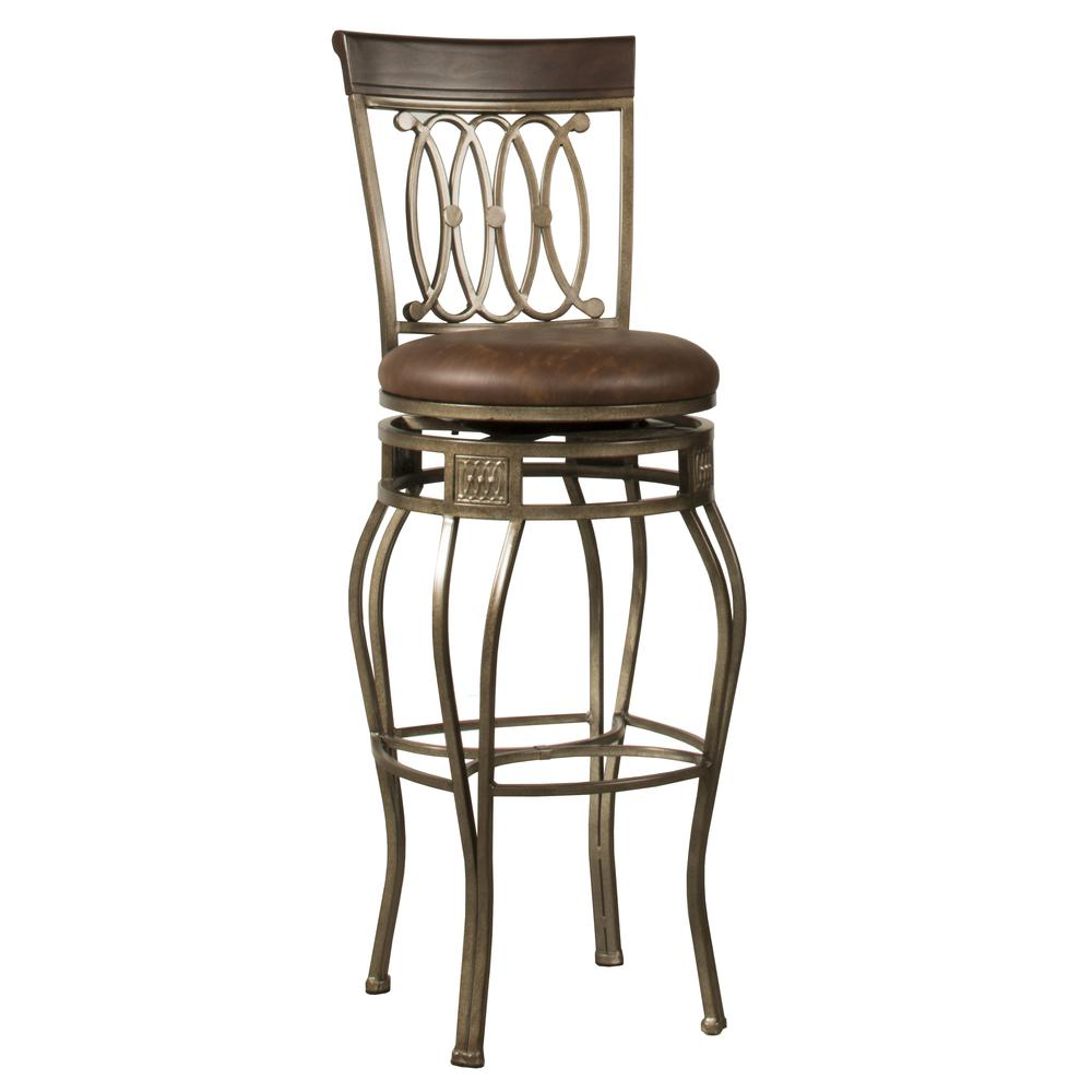 Montello Swivel Counter Height Stool. Picture 1