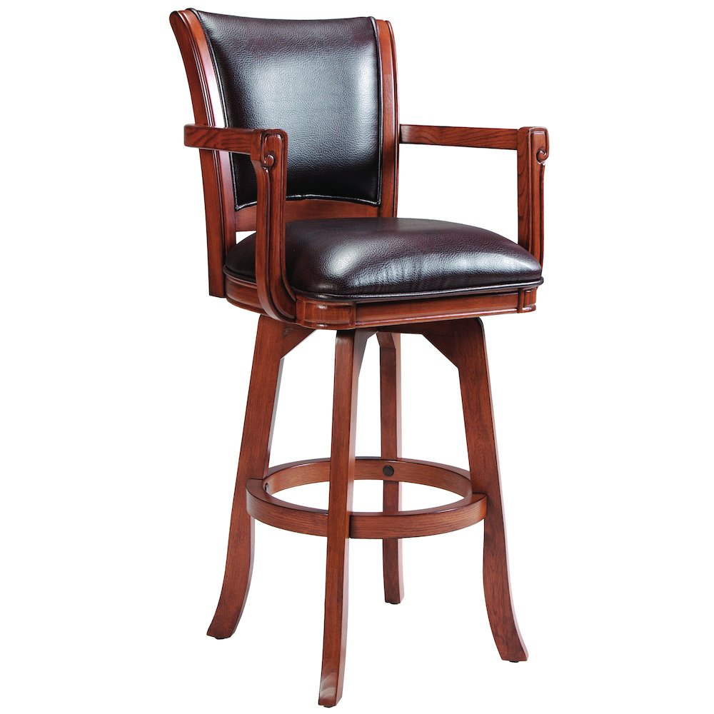 Park View Swivel Bar Height Stool. Picture 1