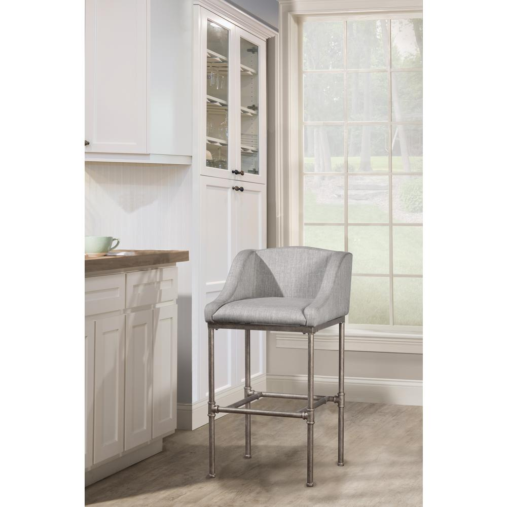 Dillon Non-Swivel Counter Height Stool. Picture 2