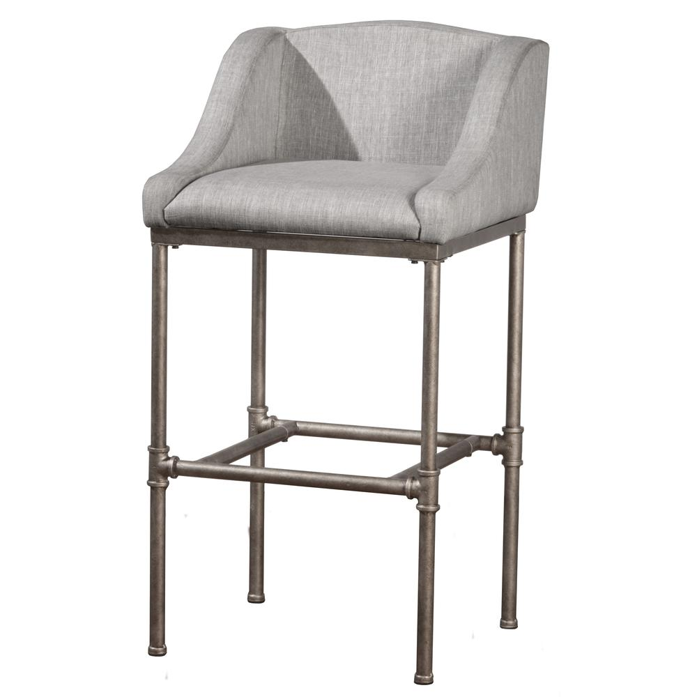 Dillon Non-Swivel Counter Height Stool. Picture 1
