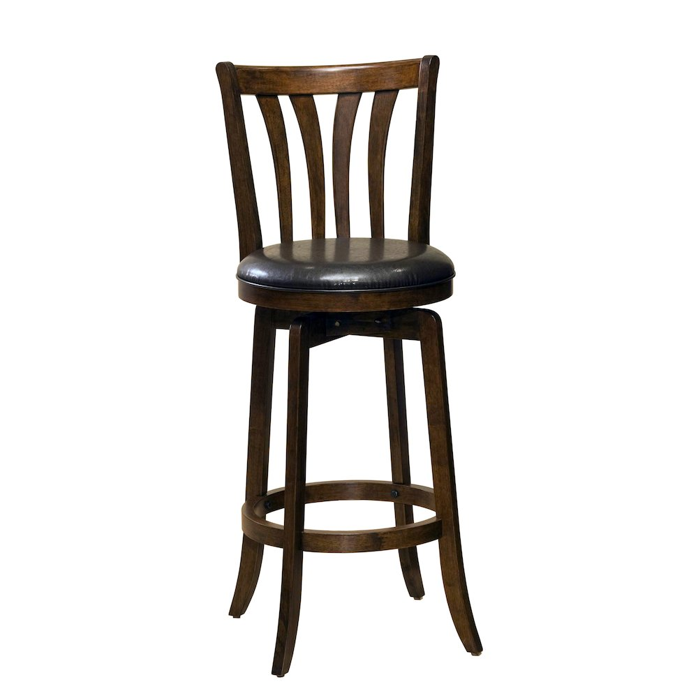 Savana Swivel Bar Stool Cherry