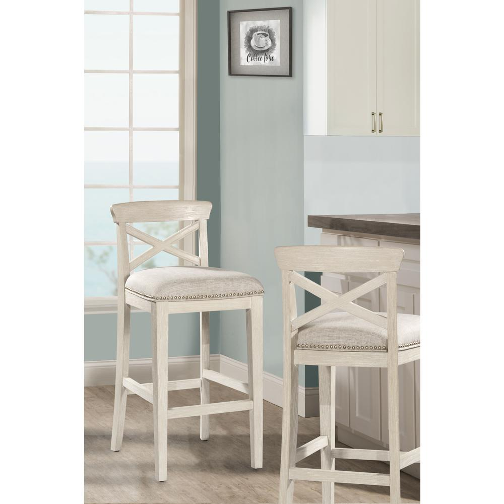 Bayview Non-Swivel Counter Height Stool - Set of 2. Picture 2