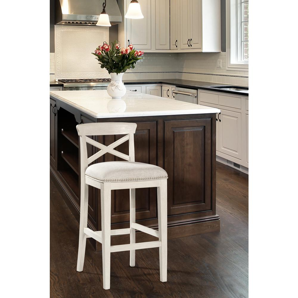Bayview Non-Swivel Counter Height Stool - Set of 2. Picture 3