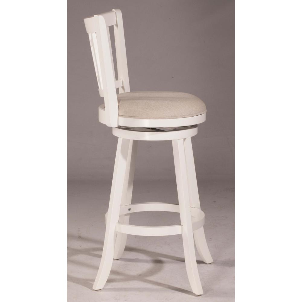 Awesome Fairfox Swivel Bar Height Stool White Wood Finish By Hillsdale Furniture Alphanode Cool Chair Designs And Ideas Alphanodeonline