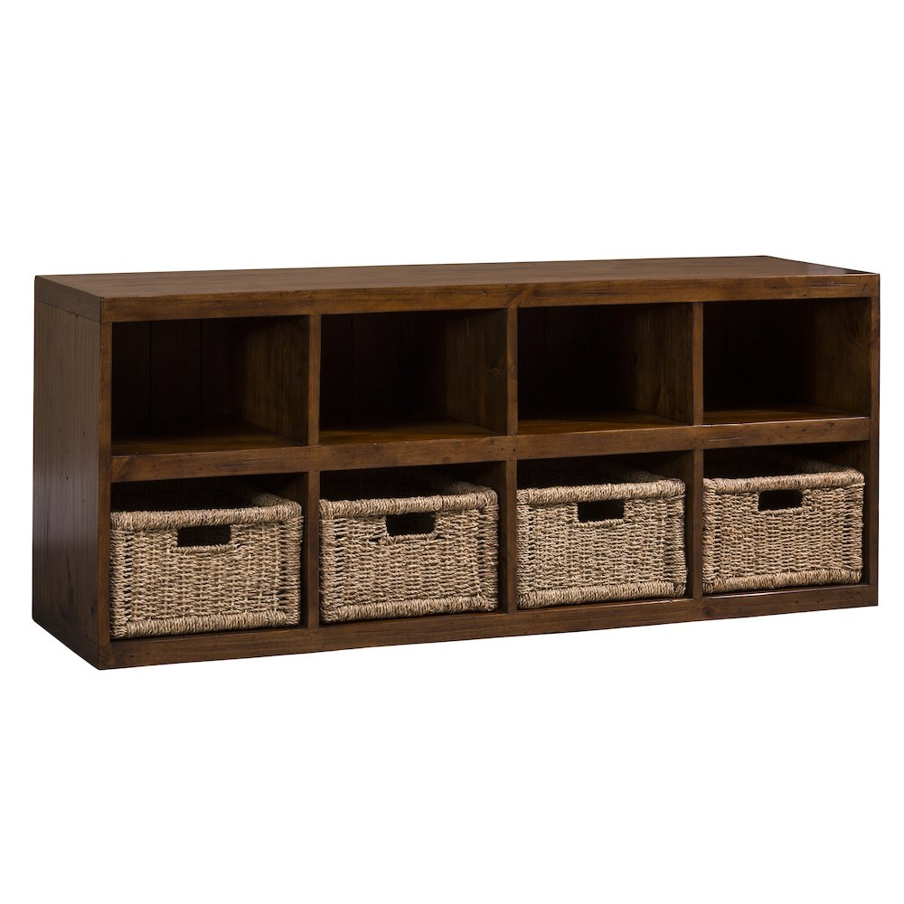 Tuscan Retreat 174 Storage Cube With Baskets Oxford