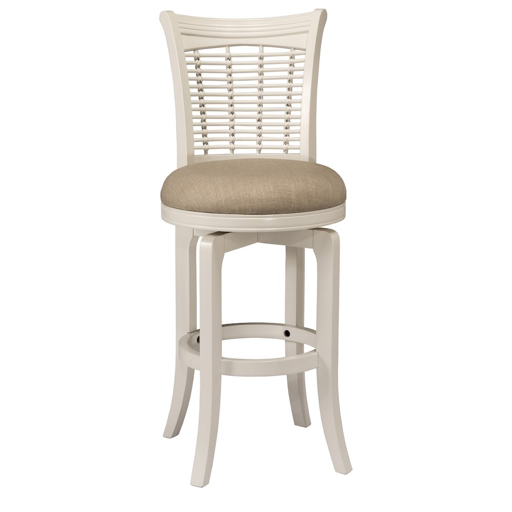 Bayberry Swivel Counter Stool White