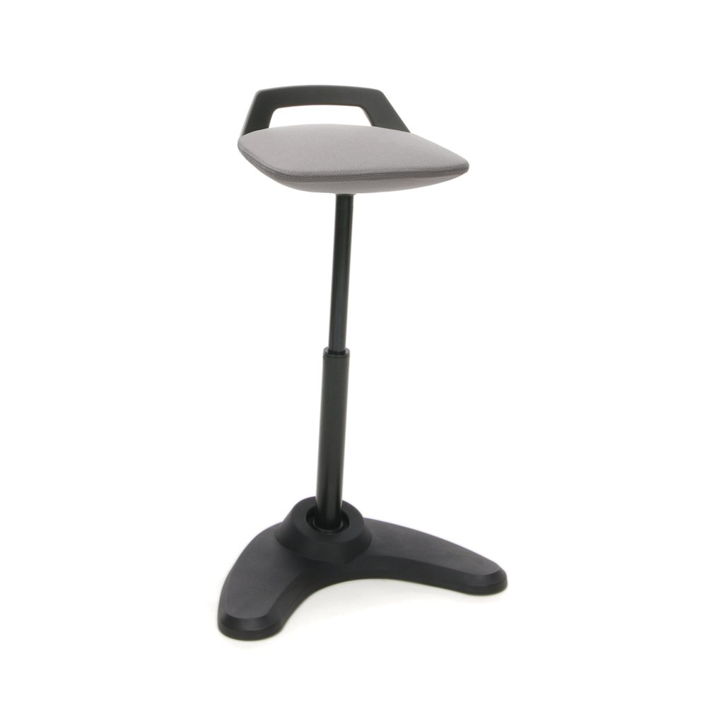 Vivo Height Adjustable Perch Stool Gray