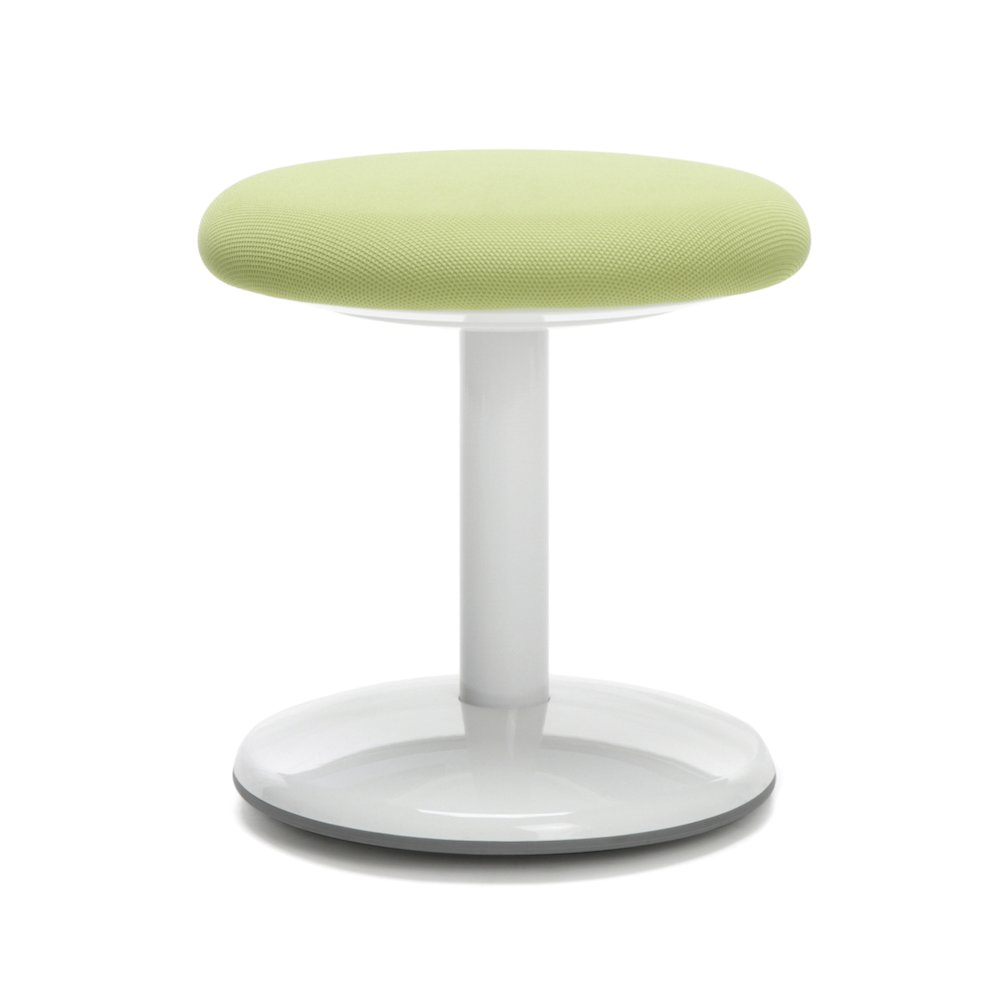 Orbit Active Stool 14 Quot High Green Fabric