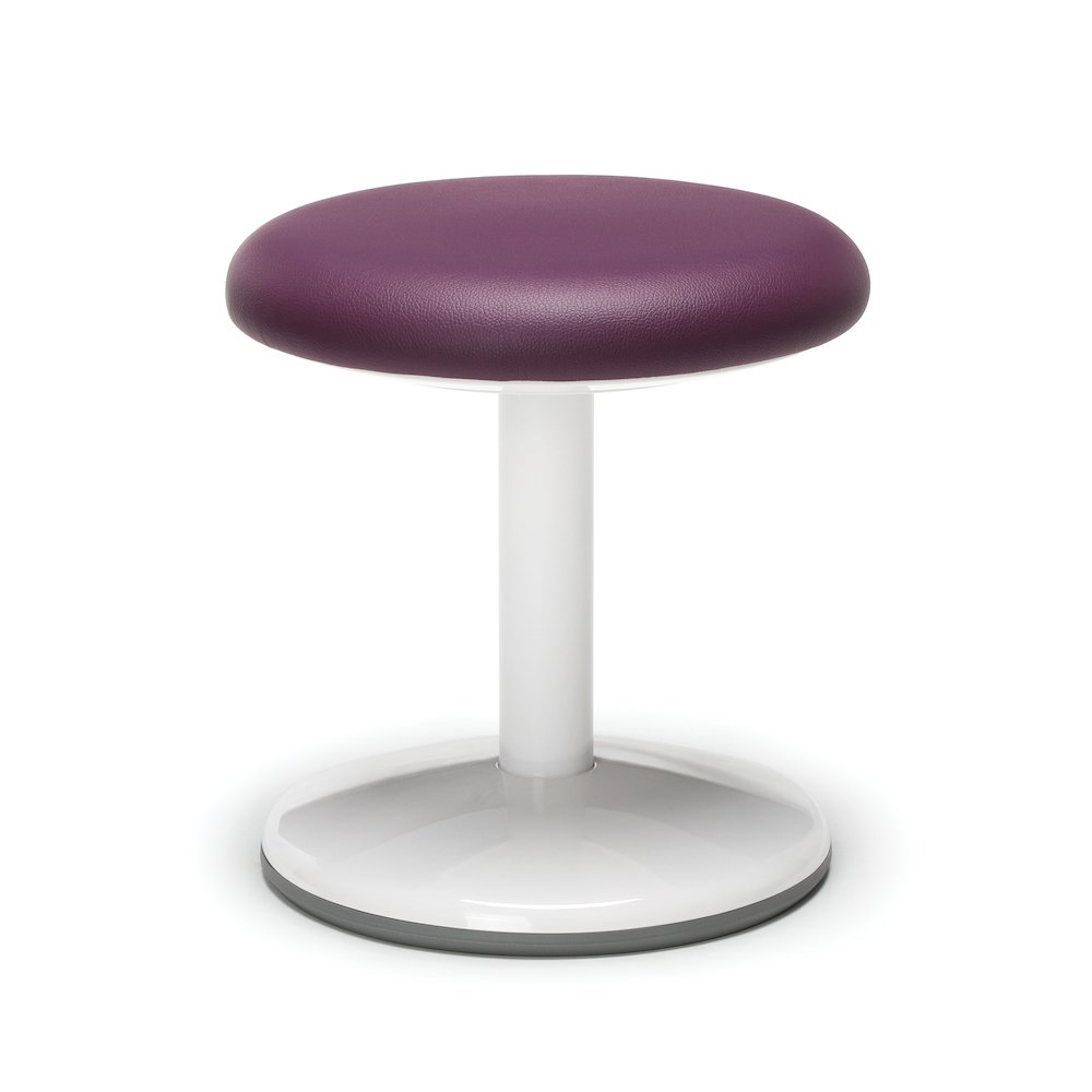 Orbit Static Stool 14 Quot High Purple Vinyl