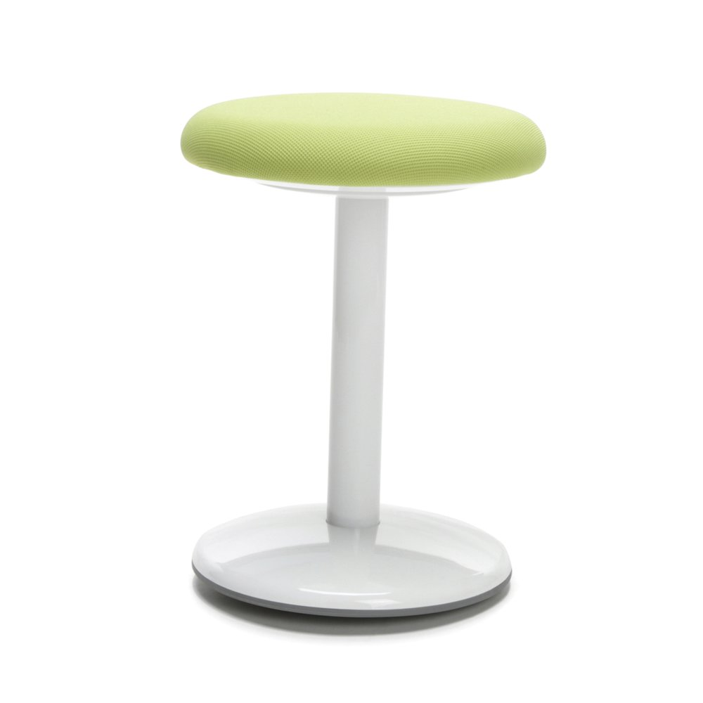 Orbit Active Stool 18 Quot High Green Fabric