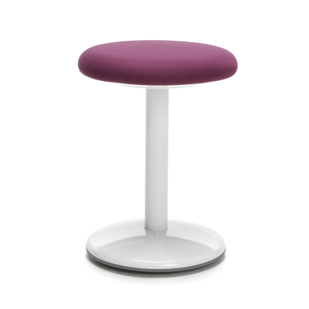 Orbit Active Stool 18 Quot High Purple Fabric