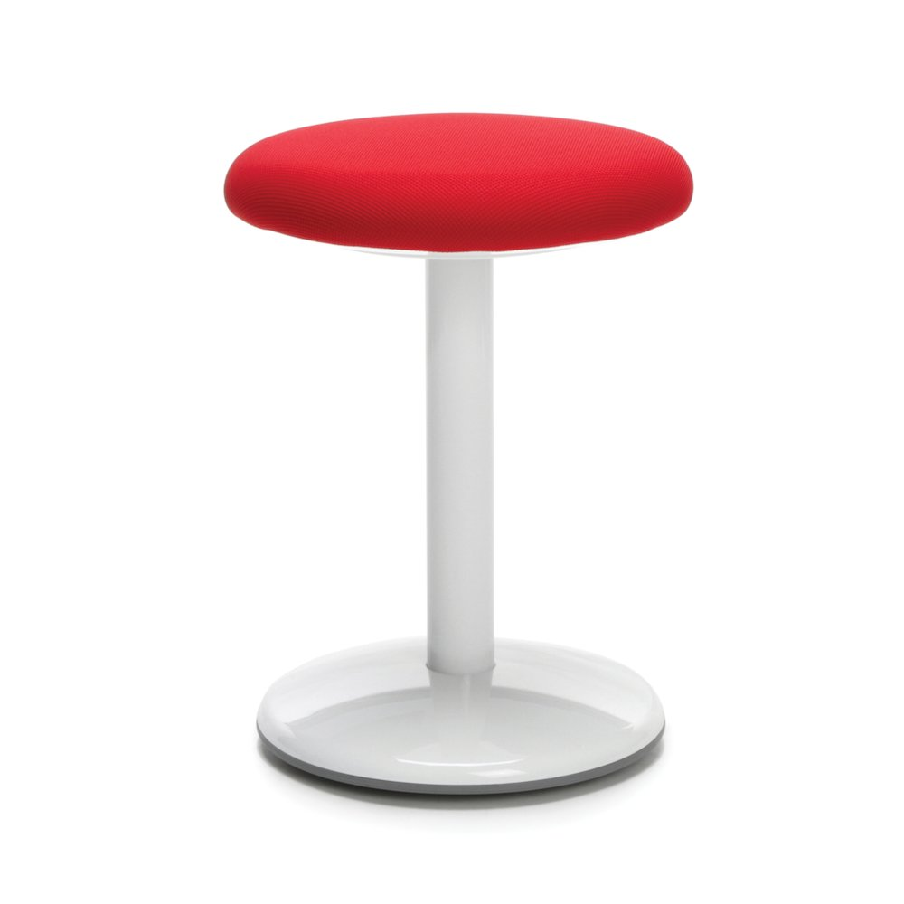 Orbit Active Stool 18 Quot High Red Fabric