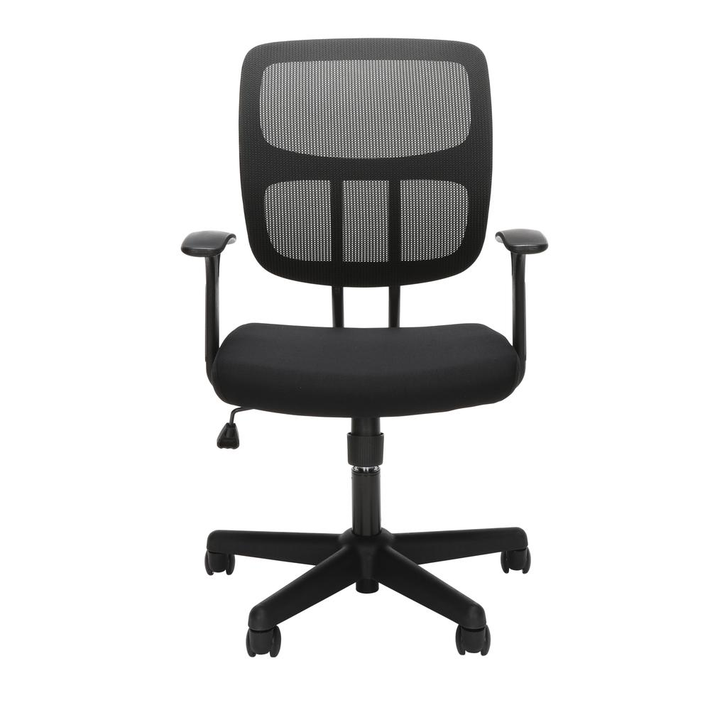 OFM Essentials Series Mesh Office Chair, in Black (ESS-3003). Picture 2