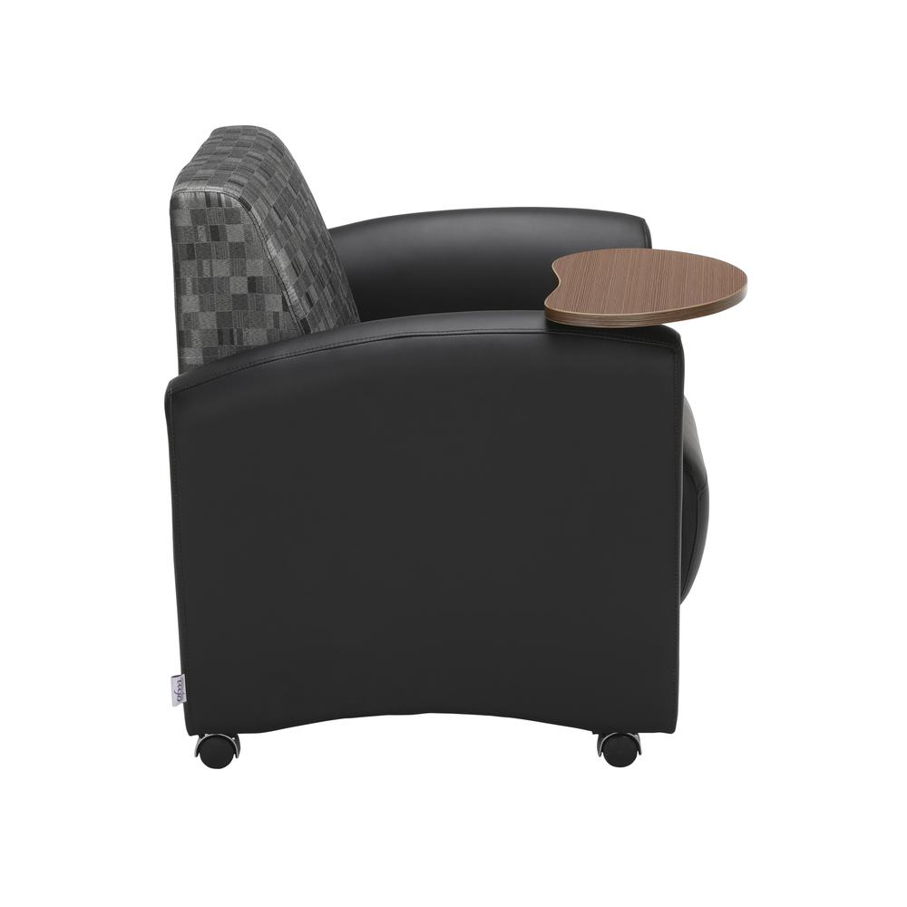OFM  Single Seat Chair with Bronze Tablet,/Nickel (821-N-606-BRONZ). Picture 4