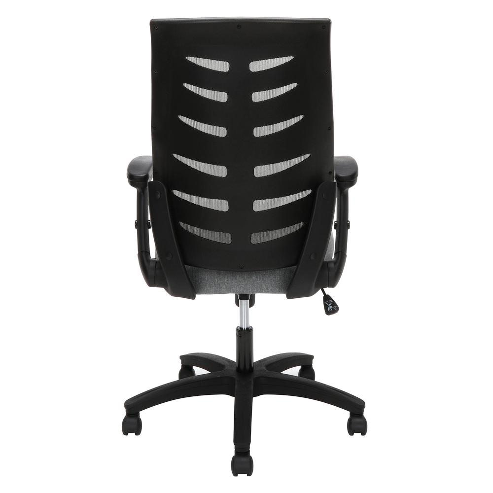 OFM Model 530-GRY Core Collection Midback Mesh Office Chair for Computer Desk, Gray. Picture 3