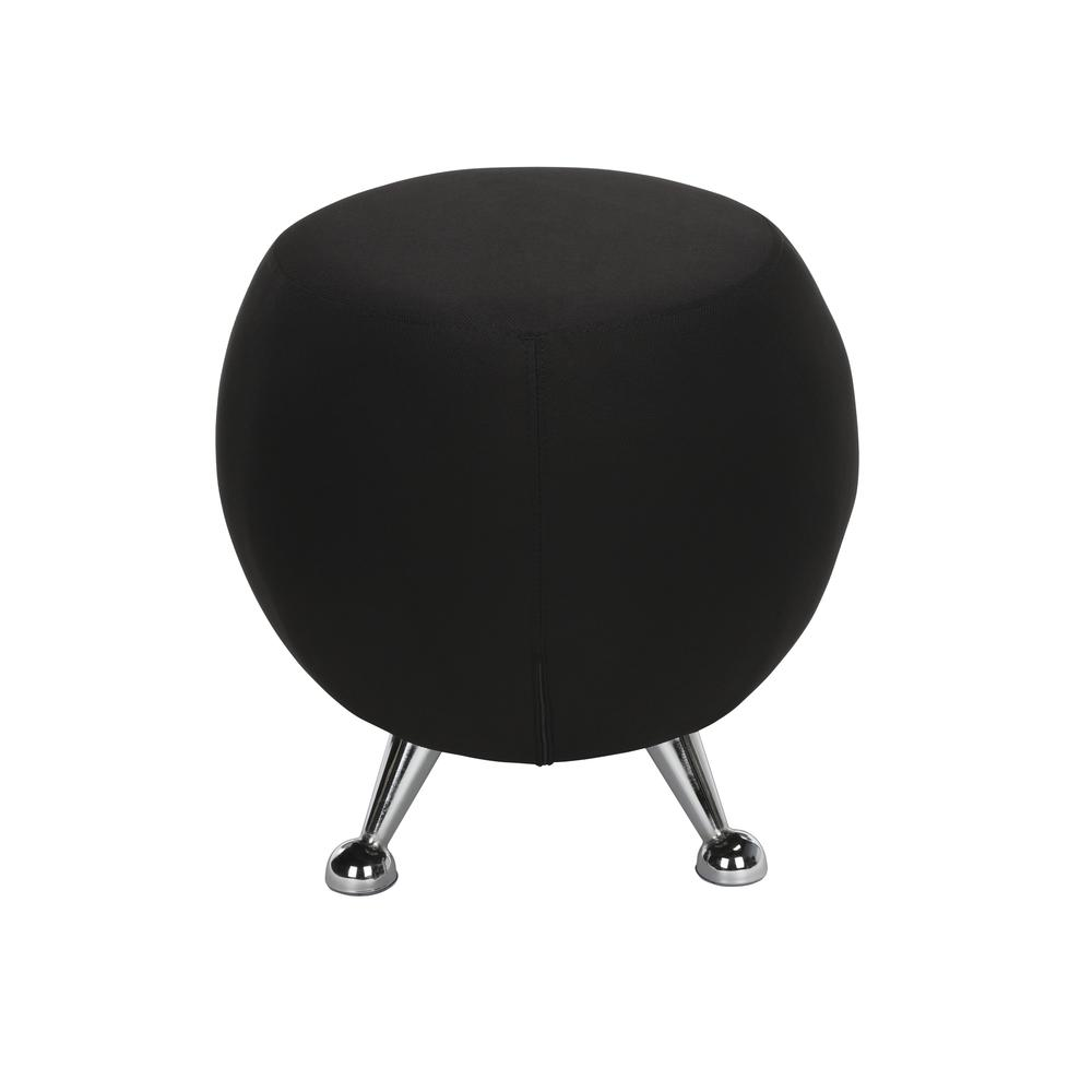 OFM Jupiter Series Fabric Ball Stool, in Black (2001-2327). Picture 5