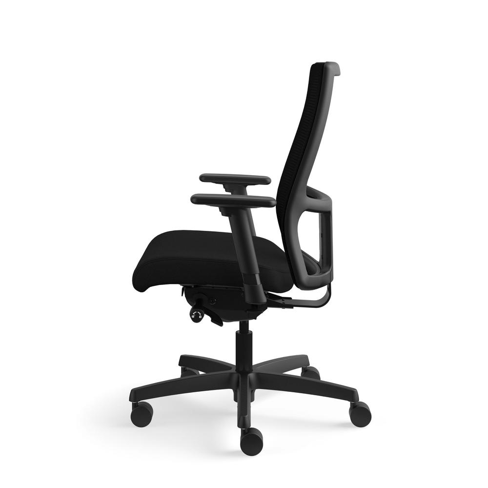 HON Ignition Series Mid-Back Work Chair - Mesh Computer Chair for Office Desk, Black (HIWM2)