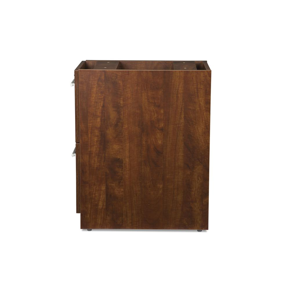 OFM Fulcrum Series Locking Pedestal, 2-Drawer Filing Cabinet, Cherry (CL-FF-CHY). Picture 5