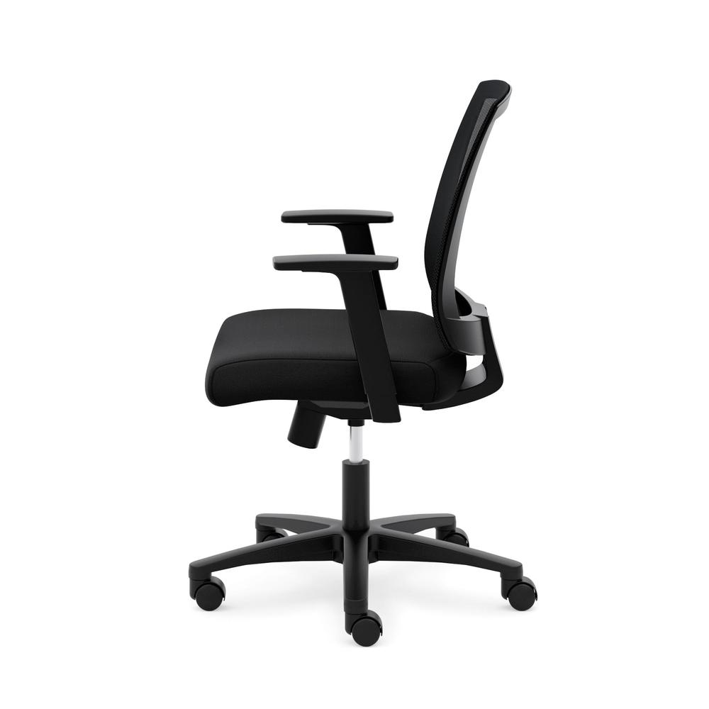 HON Torch Mesh Task Chair - Mid-Back Office Chair,  Black  (HVL511). Picture 5