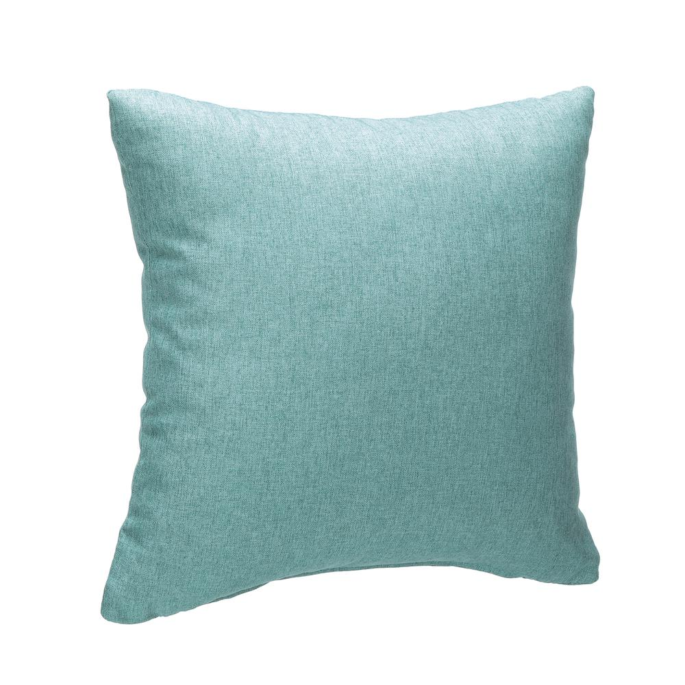 161 Collection Mid Century Modern 2-Pack 18 x 18 Accent Pillows, Teal. Picture 1