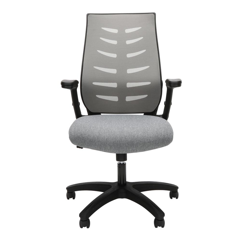 OFM Model 530-GRY Core Collection Midback Mesh Office Chair for Computer Desk, Gray. Picture 2