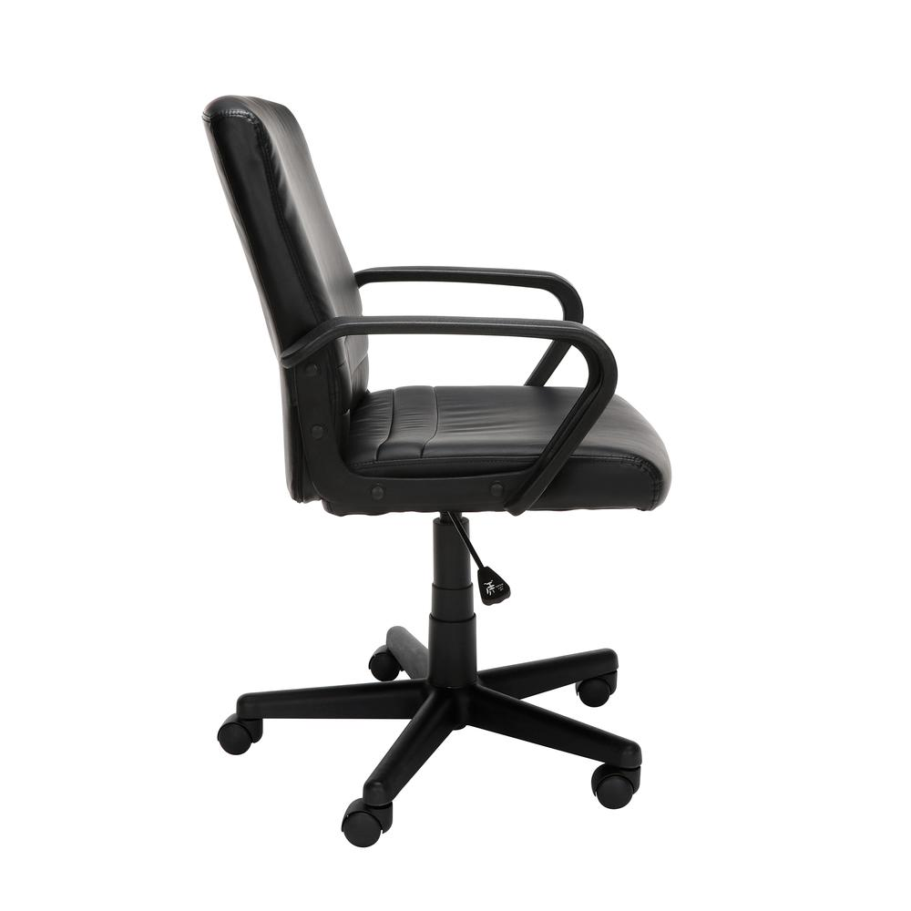 Essentials by OFM E1008 Mid Back Executive Chair, Black. Picture 4