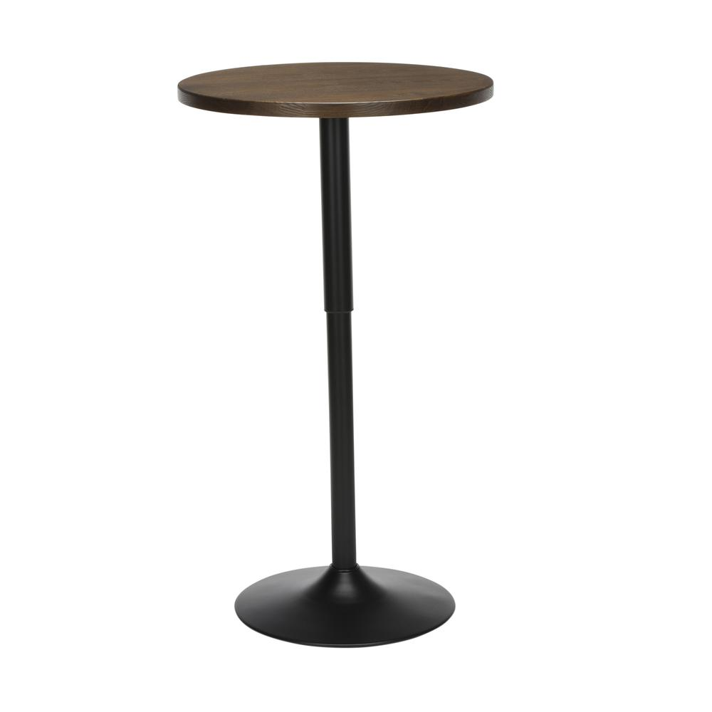 "The OFM 161 Collection Industrial Modern 33"" to 42"" Adjustable Pub Table provides a blank canvas that pairs beautifully with any of the stool seating from the 161 Collection. The pub table's height ad. Picture 5"