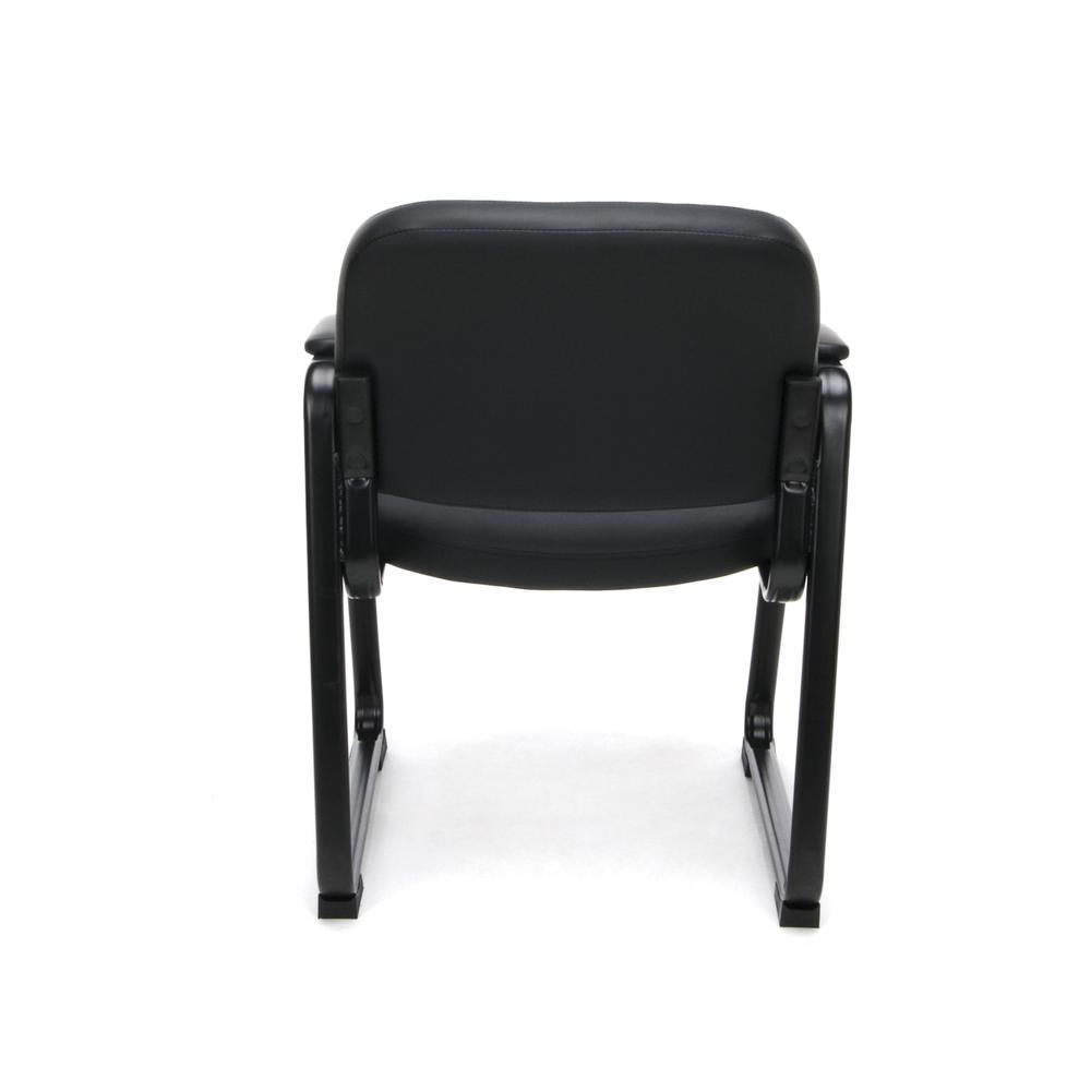 OFM ESS-9015 Bonded Leather Side Chair with SBase. Picture 3