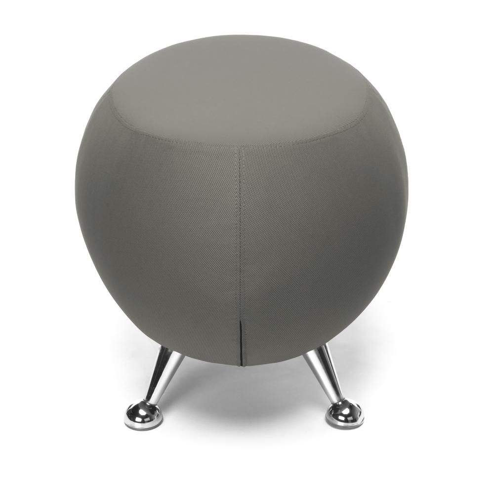 OFM Jupiter Series Fabric Ball Stool, in Gray (2001-2315). Picture 4