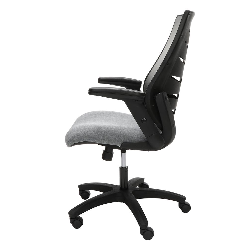 OFM Model 530-GRY Core Collection Midback Mesh Office Chair for Computer Desk, Gray. Picture 5