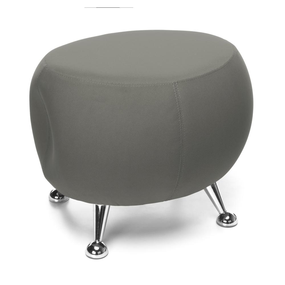 OFM Jupiter Series Fabric Ball Stool, in Gray (2001-2315). Picture 1