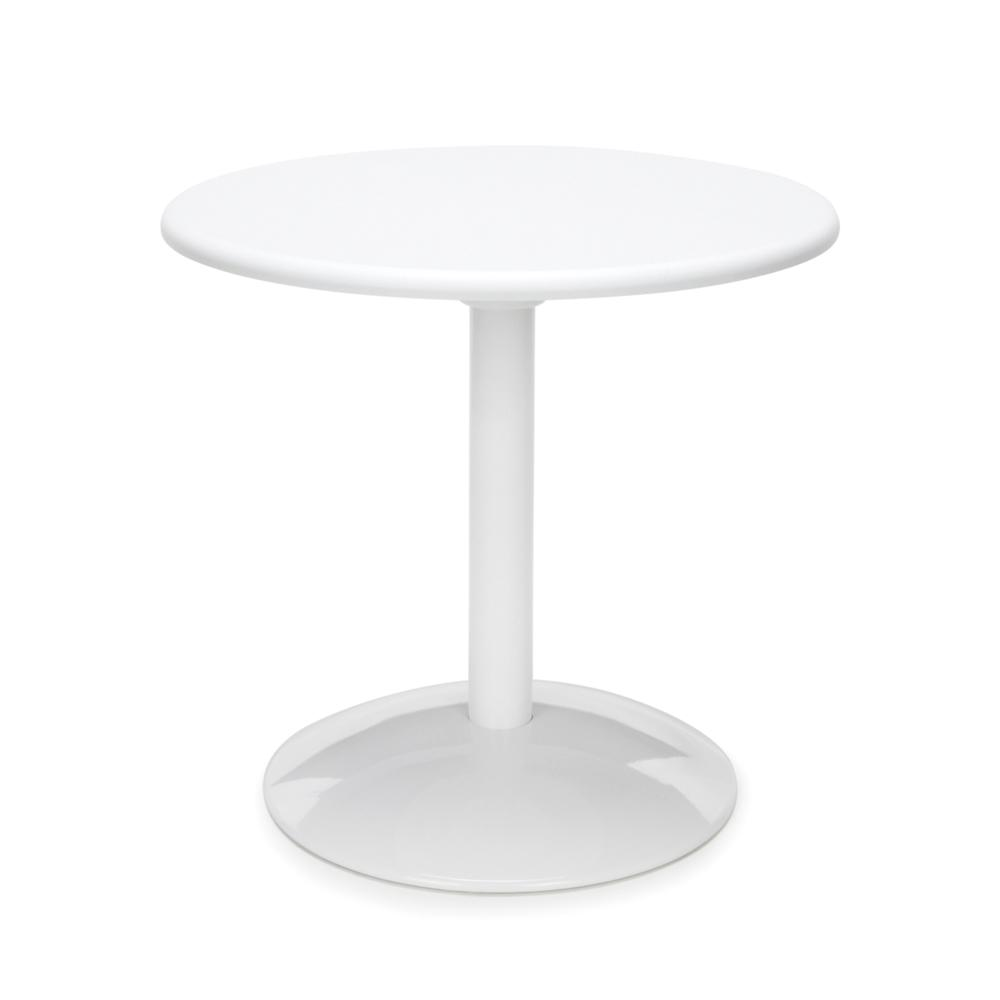 """OFM Orbit Series Model OT24RD 24"""" Round Table, White. Picture 1"""