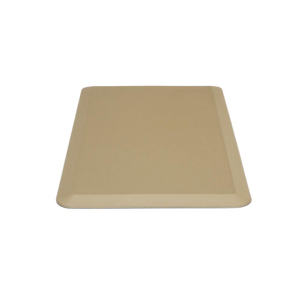 "Essentials by OFM ESS-8820 20"" x 36"" Anti-Fatigue Comfort Mat, Tan. Picture 5"