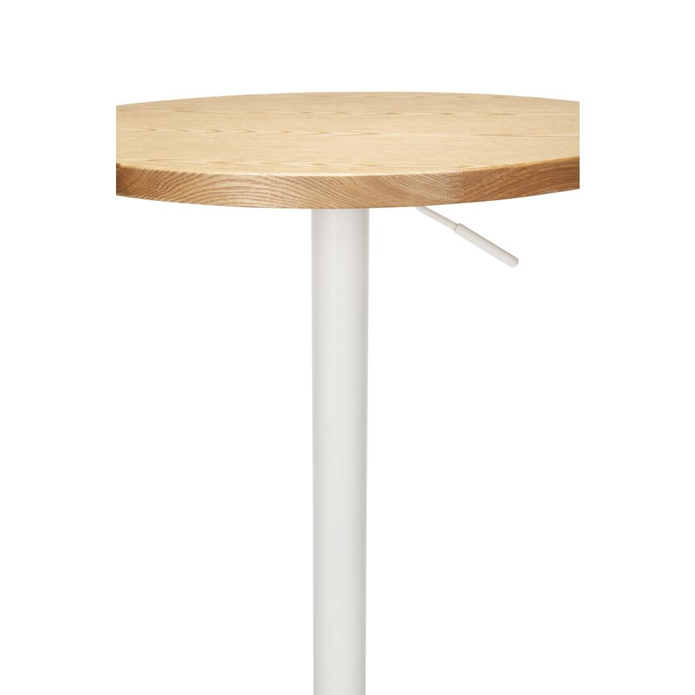 "The OFM 161 Collection Industrial Modern 33"" to 42"" Adjustable Pub Table provides a blank canvas that pairs beautifully with any of the stool seating from the 161 Collection. The pub table's height ad. Picture 9"