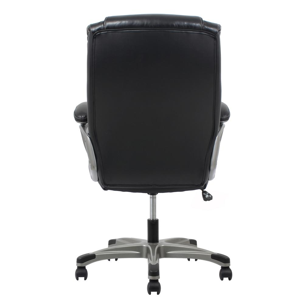 OFM ESS-6030 High-Back Bonded Leather Chair with Fixed Arms. Picture 3