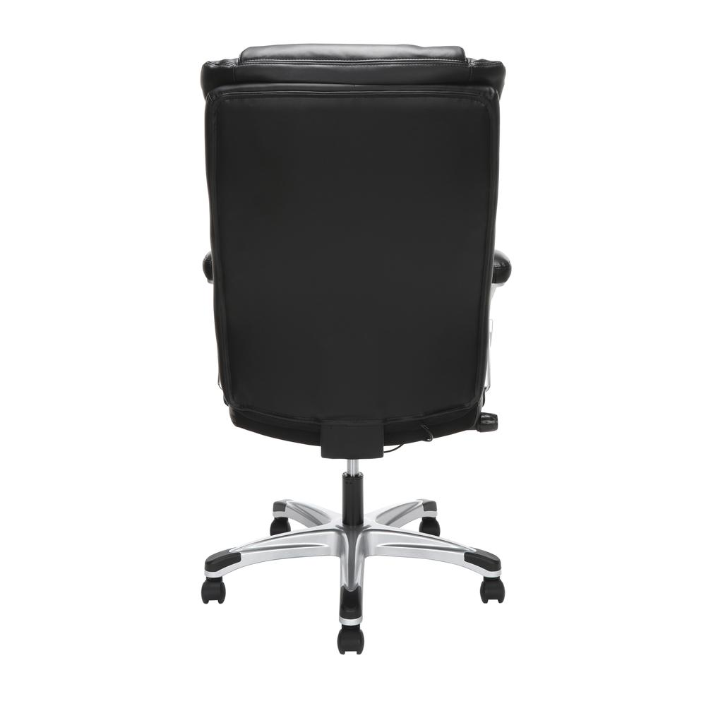 OFM Essentials Series Ergonomic Executive Bonded Leather Office Chair, in Black (ESS-6046-BLK). Picture 5