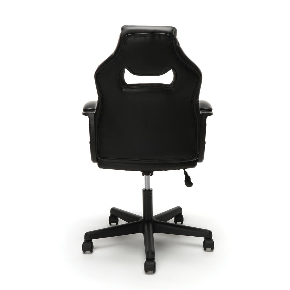 Essentials by OFM ESS-3083 Racing Style Gaming Chair, Gray. Picture 3