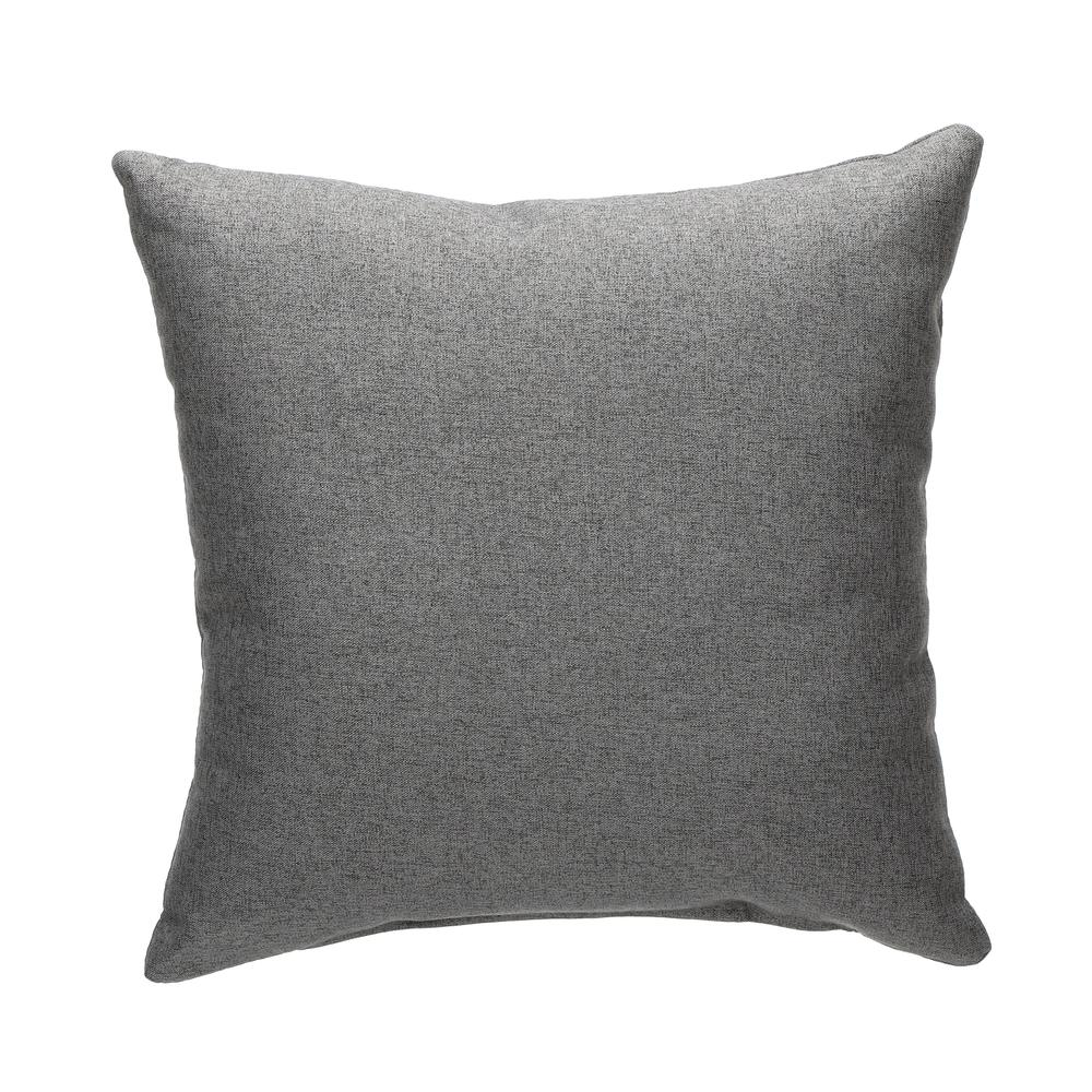161 Collection Mid Century Modern 2-Pack 18 x 18 Accent Pillows, Dark Gray. Picture 3