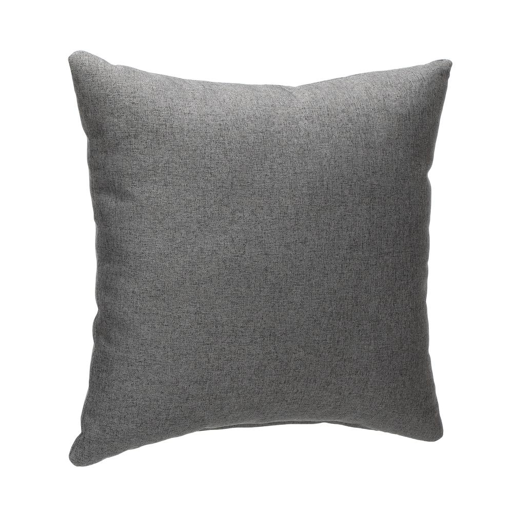 161 Collection Mid Century Modern 2-Pack 18 x 18 Accent Pillows, Dark Gray. Picture 1
