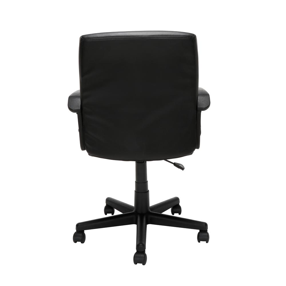 Essentials by OFM E1008 Mid Back Executive Chair, Black. Picture 3