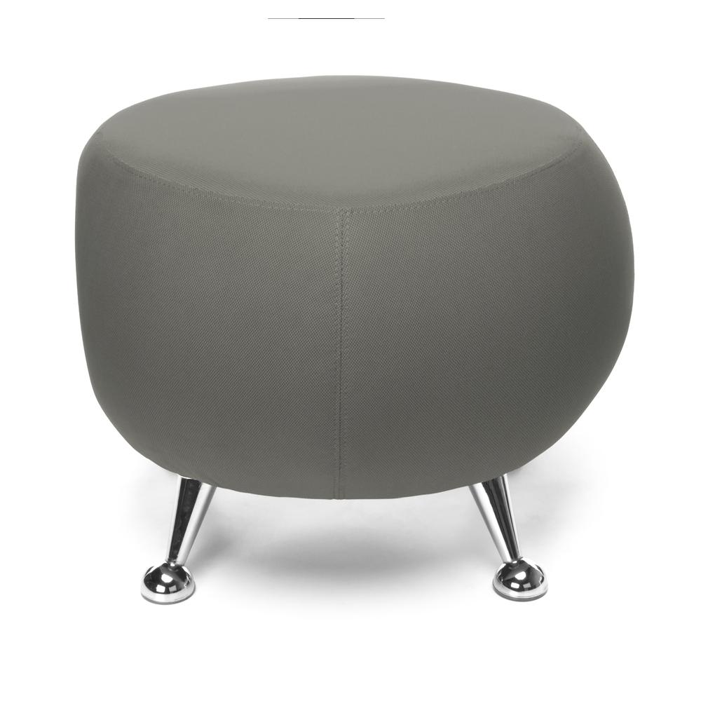 OFM Jupiter Series Fabric Ball Stool, in Gray (2001-2315). Picture 2