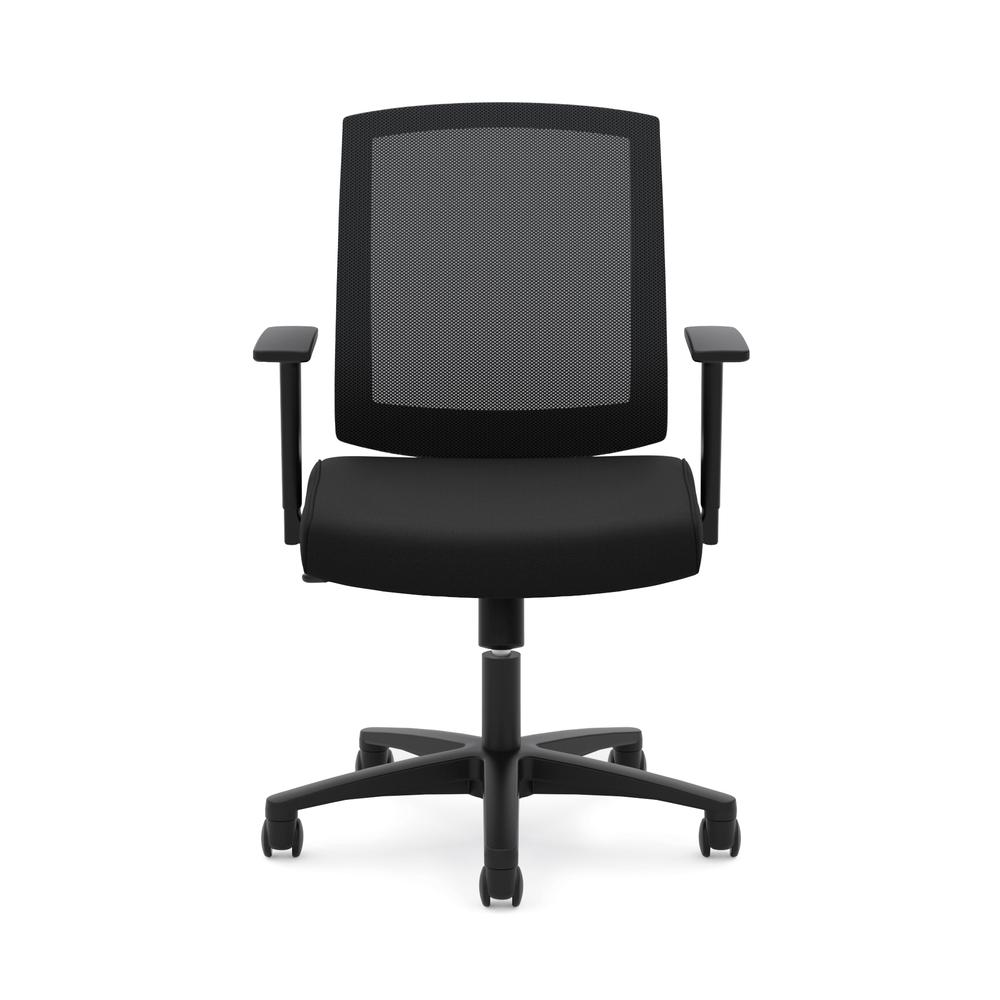 HON Torch Mesh Task Chair - Mid-Back Office Chair,  Black  (HVL511). Picture 2