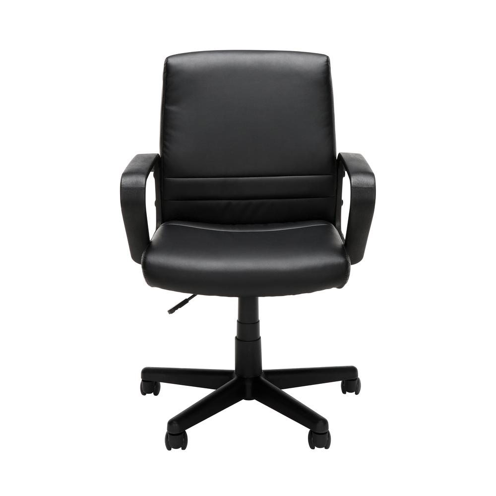 Essentials by OFM E1008 Mid Back Executive Chair, Black. Picture 2