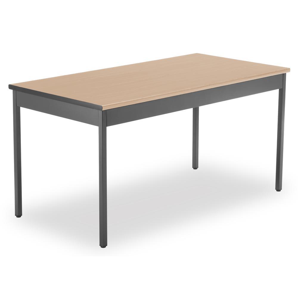 "OFM Model UT3060 30"" x 60"" Multi-Purpose Utility Table, Maple. Picture 1"